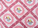 Patchwork Print Pink