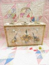 Sea Shell Wicker Basket