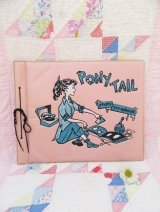 Ponytail Scrap Book Pink