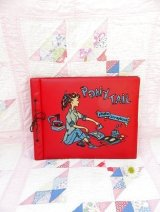 Ponytail Scrap Book Red