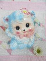 RUBENS Blue Bear Pink Bow