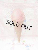 Strawberry Ice cream Paper Sign