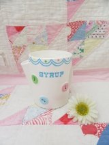 Bow&Button Syrup Pot