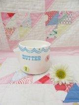 Bow&Button Butter Pot