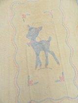 Chenille Blanket Bambi Cream