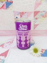 Shurfine Grape Soda Can
