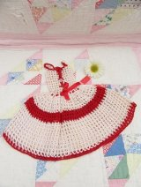 Crocheted Dress PotHolder