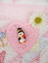 Penguin&Heart Pins