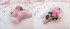 画像3: Pink Bunny Rose Pins