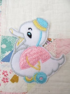 画像2: Applique Baby Duck
